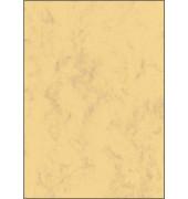 Motivpapier DP553 A4 200g sandbraun Marmor 50 Blatt