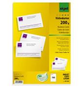 DP839 Visitenkarten weiß 85 x 55 mm 200g 150 Stück