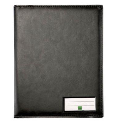 Einband f.Formularbücher A5h schwarz 220x170x50 Stiftha.