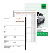 Fahrtenbuch FA514 PKW und LKW A5 quer 32 Blatt
