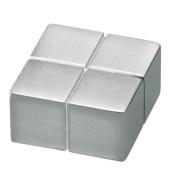 SuperDym Magnet C10 silber 20x10x20mm