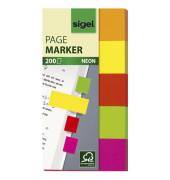 Index Haftstreifen neon 5 Farben farbig sortiert HN 650