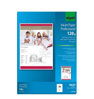 IP-182 A4 120g Inkjetpapier hochweiß 50 Blatt