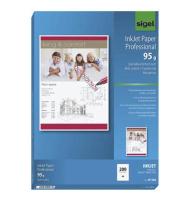 IP-288 A4 95g Inkjetpapier hochweiß 200 Blatt