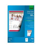 Inkjet-Fotopapier A4 IP-619 Professional beidseitig matt 105g 75 Blatt