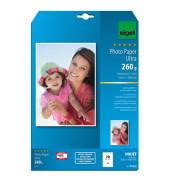 Inkjet-Fotopapier A4 IP-672 Ultra einseitig seidenmatt 260g 20 Blatt