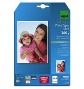 Inkjet-Fotopapier 13x18cm IP-706 Ultra einseitig hochglänzend 260g 18 Blatt
