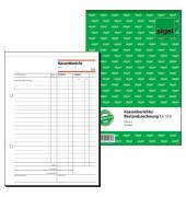 Kassenbericht / Bestandsrechnung KA518 A5 hoch 50 Blatt