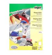 Hängeschilder für Preis- und Warenauszeichnung weiß 38x55mm LP716