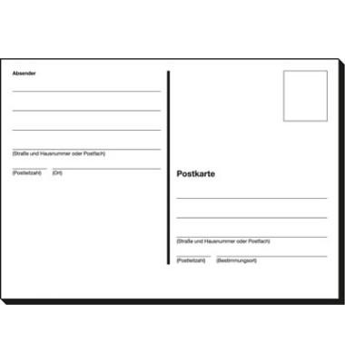 Postkartenheft A6 quer 10 Bl