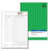 Reisekostenabrechnung RA415 A4 Monat 50 Blatt
