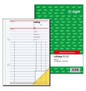 Auftragsblock Auftragsbuch A5 SD001 2x40 Blatt selbstdurchschreibend