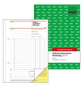 Auftrag-Lieferschein Rechnung SD017 2x40 Blatt A5 hoch
