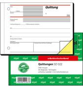 Quittung SD022  A6 quer 2 x 40 Blatt