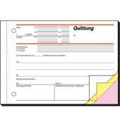 Quittungen SD023 mit MwSt-Nachweis selbstdurchschreibend A6 quer 3x40 Blatt