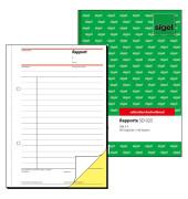 Rapport Regiebericht A5 hoch selbstdurchschreibend 2x40 Blatt