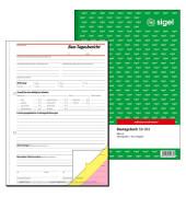 Bautagebuch SD063 A4 hoch 3x40 Blatt