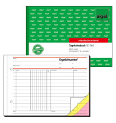 Tagelohnbuch SD065 A5 quer selbstdurchschreibend 3x40 Blatt