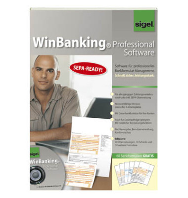 Software Win Banking CD-ROM Handbuch 60 Bankf.