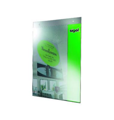 Plakattasche zum Aufhängen glasklar A4 Acryl