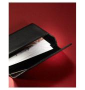 Visitenkartenetui Leder Torino schwarz bis 95x60mm f.25 Kar
