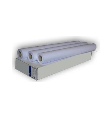 Plotterpapier Diajet universal 914mm x 50m 90g weiß opak unbeschichtet 1 Rolle