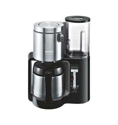 Kaffeemaschine Thermo TC86503 schwarz grau 1100 W 12Tassen