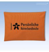 Erste-Hilfe-Tasche Persönliche Notverbandtasche orange gefüllt
