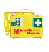 Erste-Hilfe-Koffer Extra Büro gelb gefüllt DIN 13157