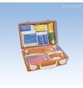 Erste-Hilfe-Koffer Quick-CD Schule orange gefüllt DIN 13157