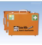 Erste-Hilfe-Koffer Spezial MT-CD Hotel & Gastronomie orange gefüllt DIN 13157
