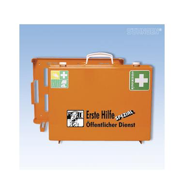 Erste-Hilfe-Koffer Spezial MT-CD Öffentlicher Dienst orange gefüllt DIN 13157