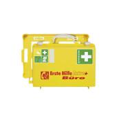Erste-Hilfe-Koffer Extra+ Büro gelb gefüllt DIN 13157