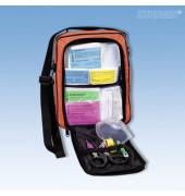 Erste-Hilfe-Tasche SCOUT SCHULAUSFLUG orange gefüllt