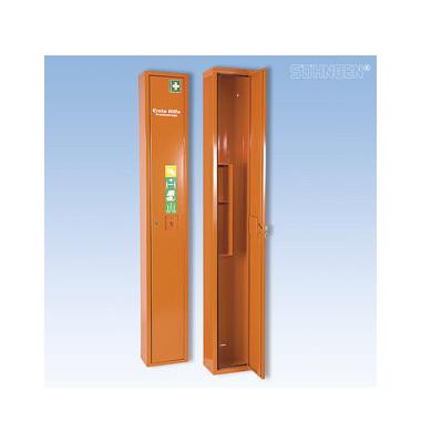 Erste-Hilfe-Schrank Safe orange leer