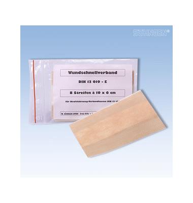 Wundschnellverband 10x6cm DIN 13019-E