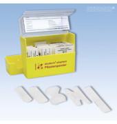Pflasterspender aluplast gelb gefüllt 160x122x57mm 90 Pflaster