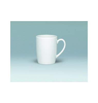 Kaffeetasse Form 98 300ml weiß Porzellan 6 Stück