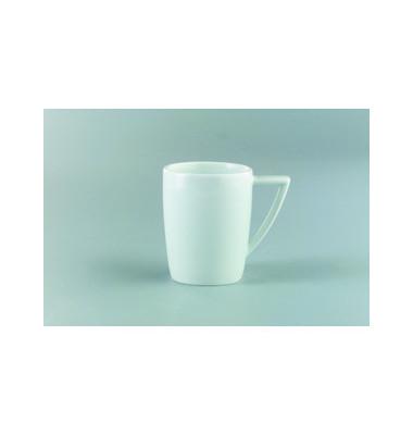 Kaffeetasse Premiere 300ml weiß Porzellan 6 Stück