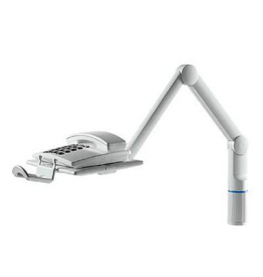 Telefonschwenker TalkMaster Platte 26 x 17cm lichtgrau