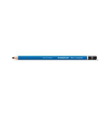 Bleistift Mars Lumograph 100-6B blau 6B