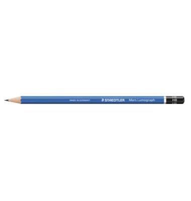 Bleistift Mars Lumograph 100-HB blau HB