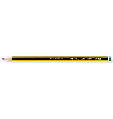 Bleistifte Noris 2H 6-eckig