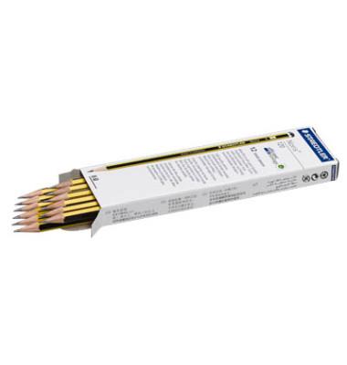 Bleistifte Noris B 6-eckig