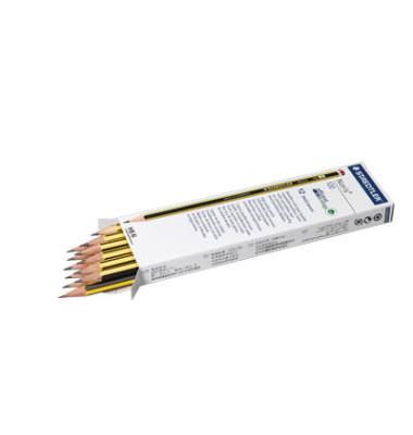 Bleistift Noris 120-2 schwarz/gelb HB