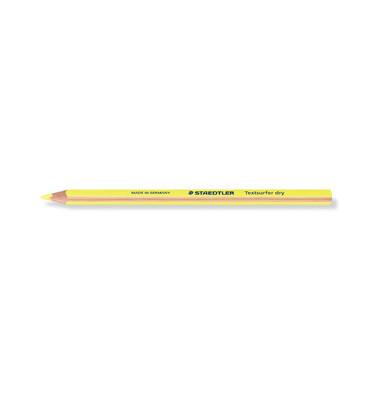 Trockentextmarker Textsurfer dry gelb 4mm Rundspitze