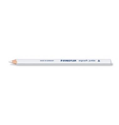 Buntstift ergosoft jumbo weiß