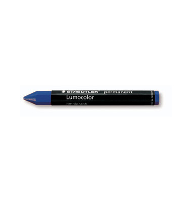 Omnigraph Universalkreide 113mm Ø12mm blau permanent