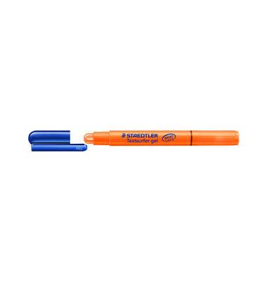Textmarker Textsurfer gel orange 3mm Rundspitze