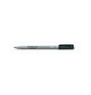 Folienstift 311 S schwarz 0,4 mm non-permanent